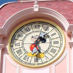 Париж_Disneyland_Время