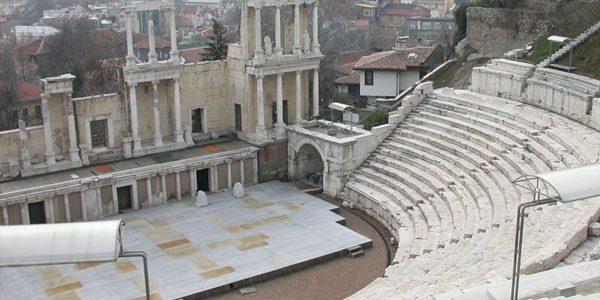 Руины-римского-театра-в-Пловдиве