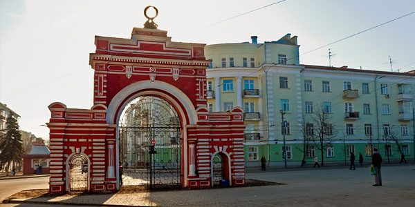 Юбилейная-арка