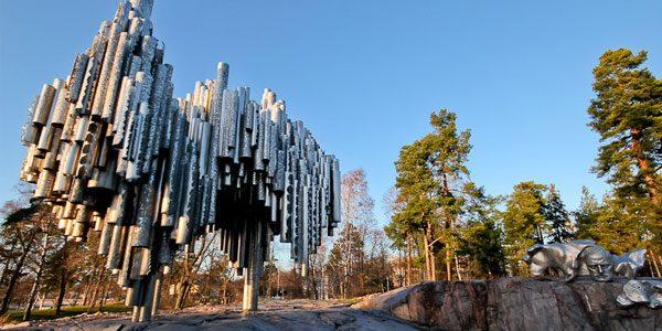 Памятник-Яну-Сибелиусу