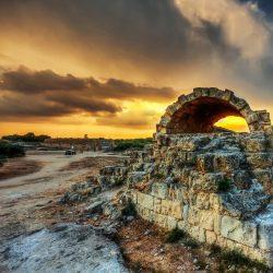Воздух на Кипре в апреле 2020.