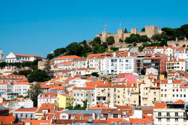 Панорама Лиссабона.