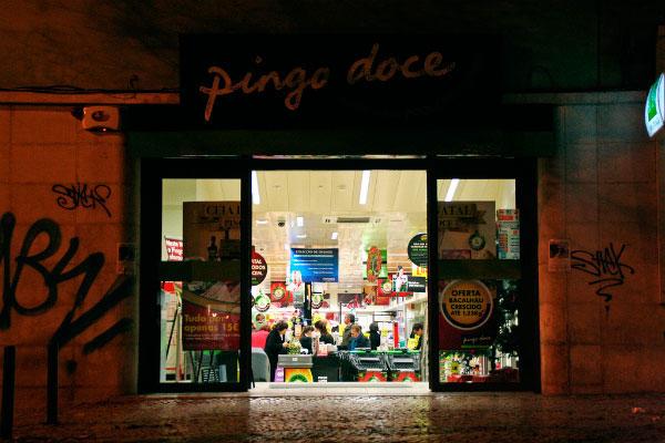 Магазин Pingo Doce.