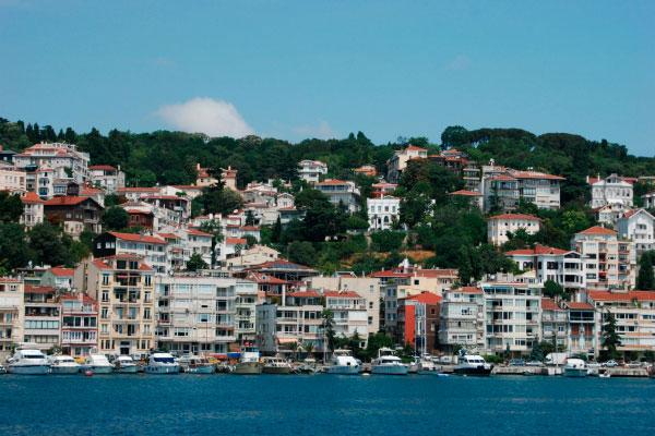 Стамбул в июне 2020 года.