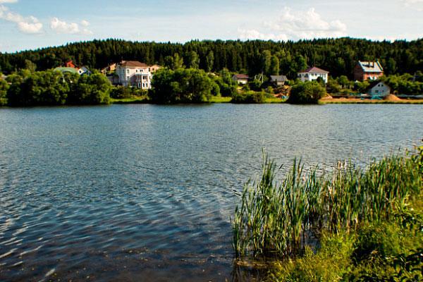 Цнянское водохранилище.