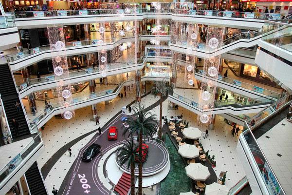 Торговый центр Cevahir.
