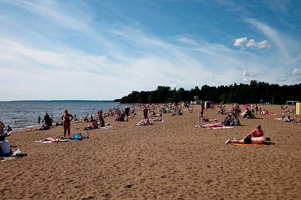 Зеленоградский пляж.