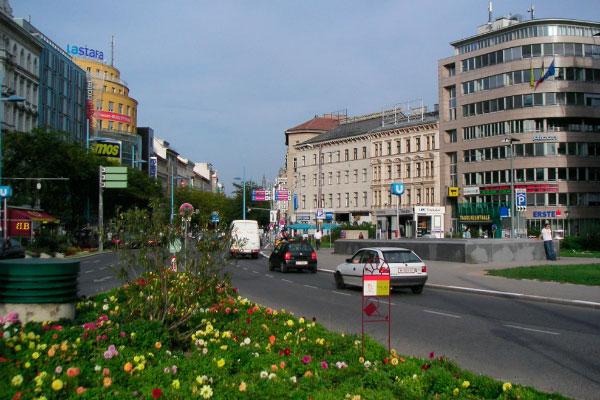 Торговая улица.