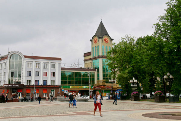 Шоппинг в Калининграде.