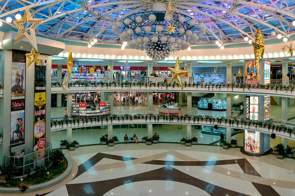 Торгово-развлекательный центр.