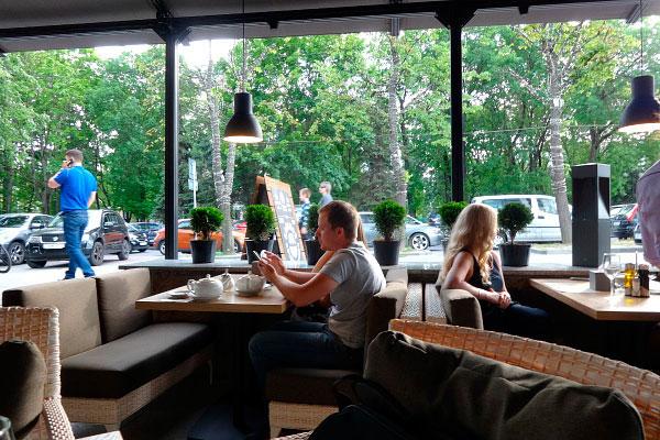 Ресторан Golden Coffee.