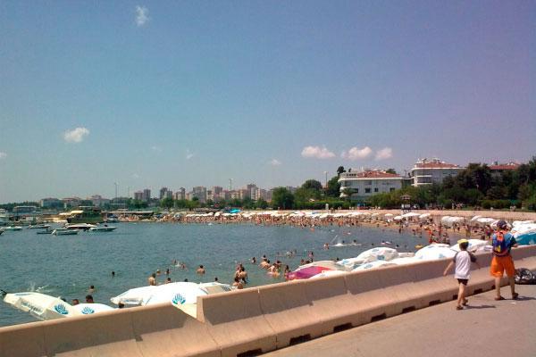 Пляж Джаддебостана.