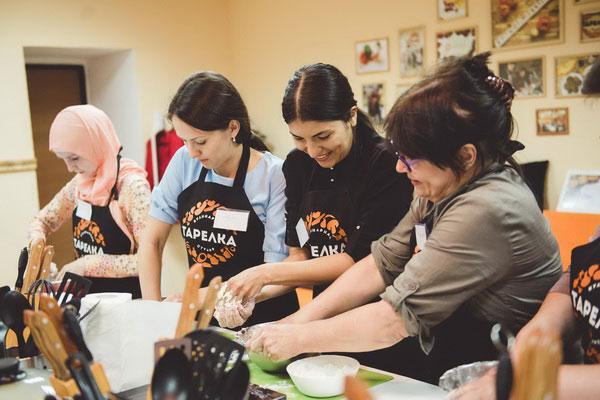Мастер-класс татарской кухни.