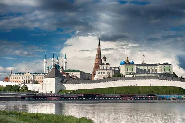 Старинный Кремль.