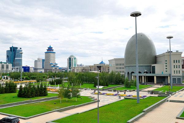 Столица Казахстана в июле 2019 года.