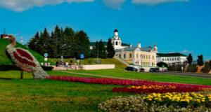 Столица Татарстана в июле.
