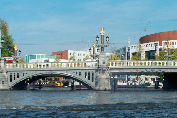 Мост Blauwbrug.