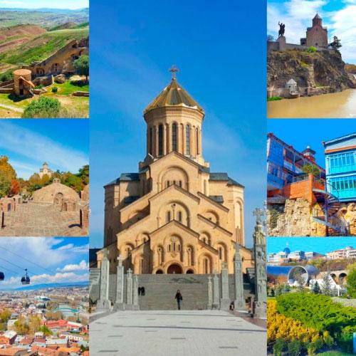 Виды грузинской столицы.