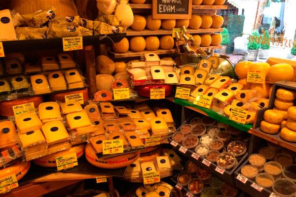 Магазин сыра.