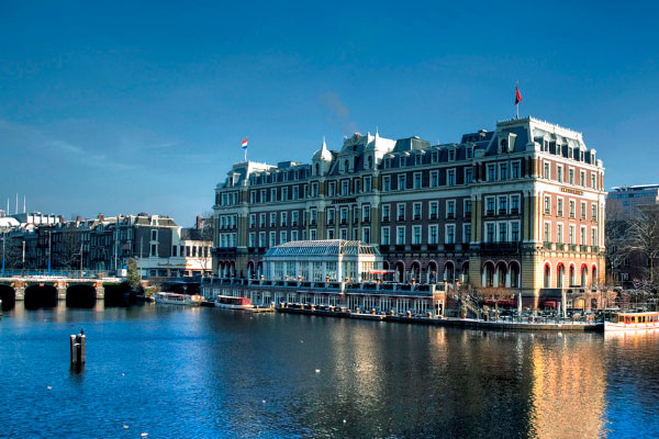 Отель Intercontinental Amstel.