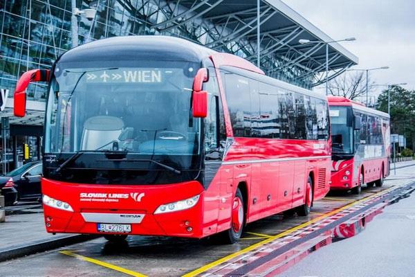 Как добраться из Братиславы в Вену на автобусе.