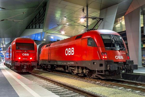 OBB — Австрийские железные дороги.