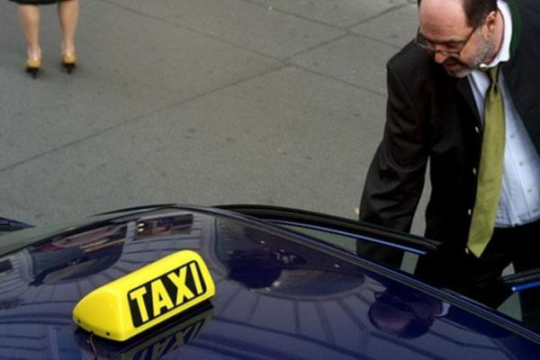 Такси в Австрии.