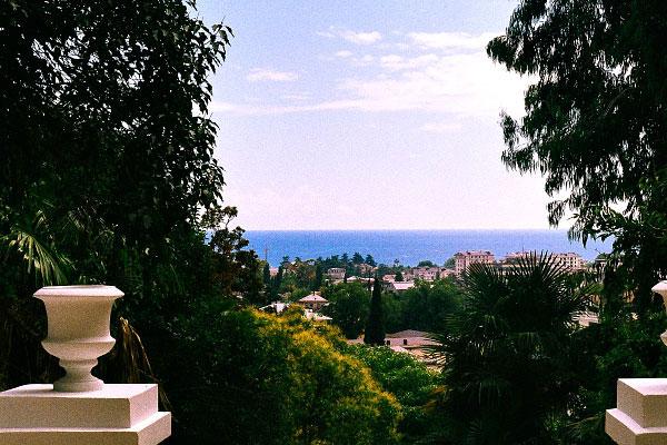 Абхазия в августе.