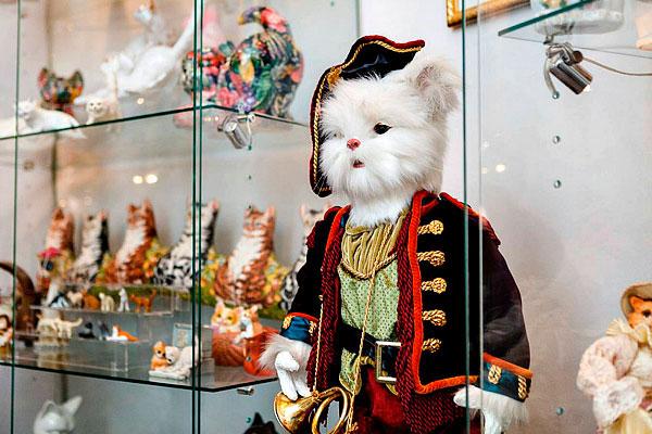 Музей кошек.