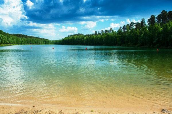 Озеро Глубокое.