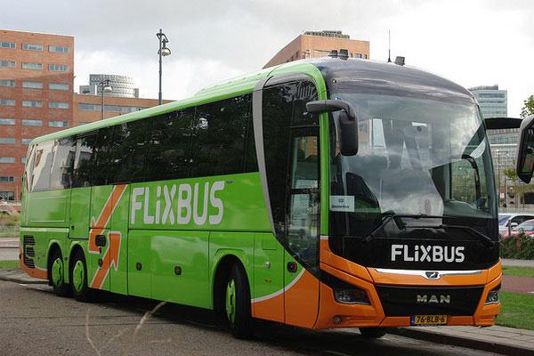 Поездка по Европе на автобусе.