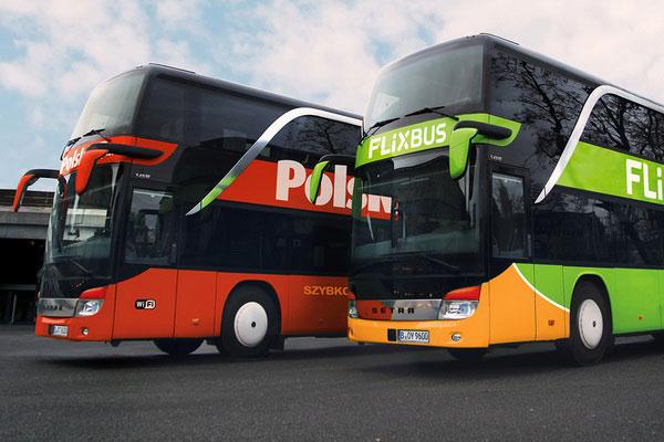 Автобусные перевозки по Польше.