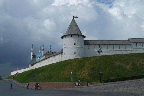 Стена Кремля.