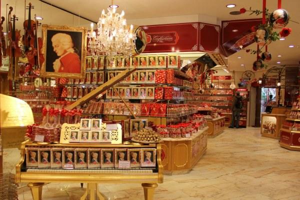 Магазин австрийского шоколада.