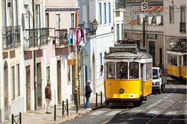 Жёлтый трамвай.