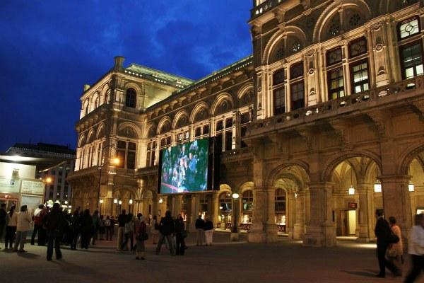 Опера в Вене.