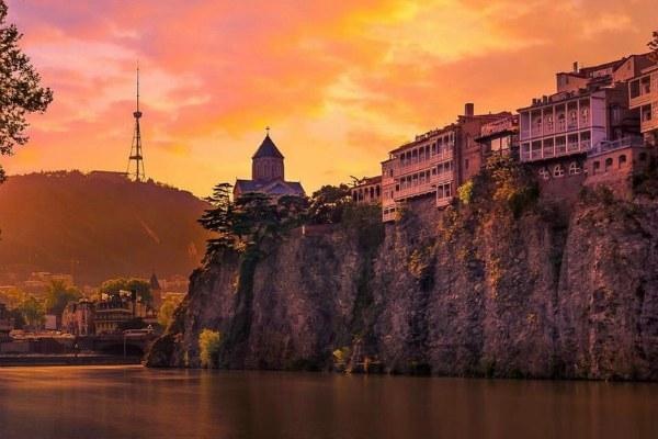 Тбилиси весной 2020 года.