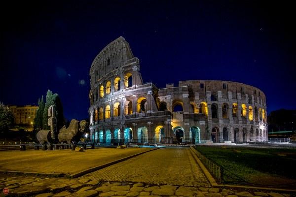 Римский форум в феврале.