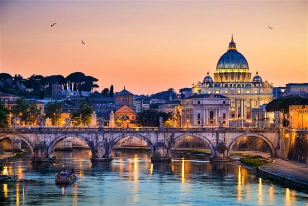 Весна 2020 в Риме.
