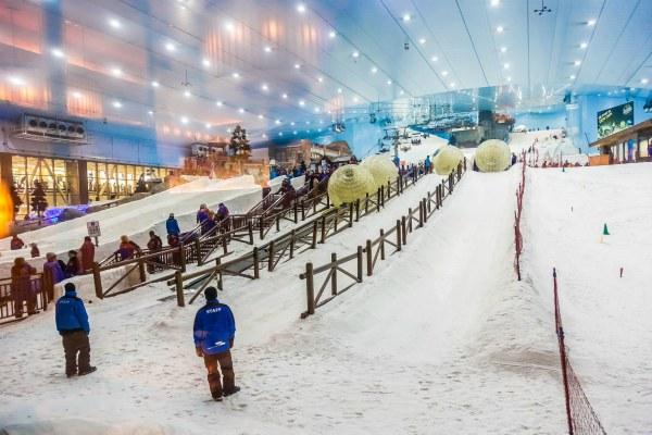 Горные лыжи.