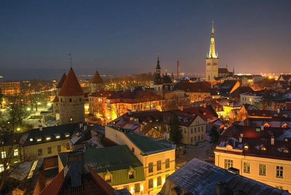 Зима 2020 в Таллине.