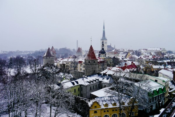 Зима 2020–2021 в Таллине.