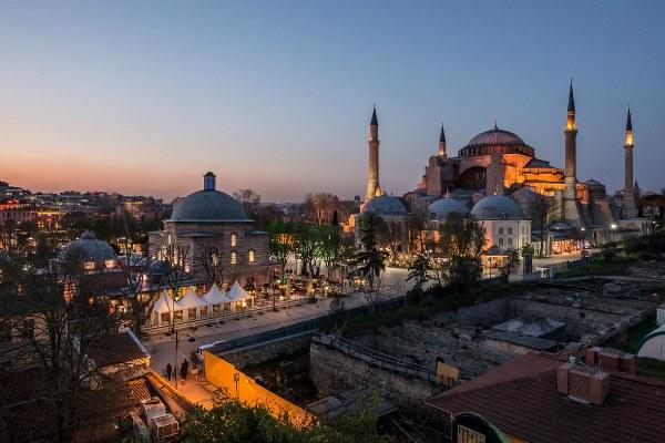 Февраль 2020 в Стамбуле.