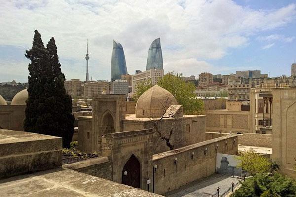 Весна 2021 в Баку.