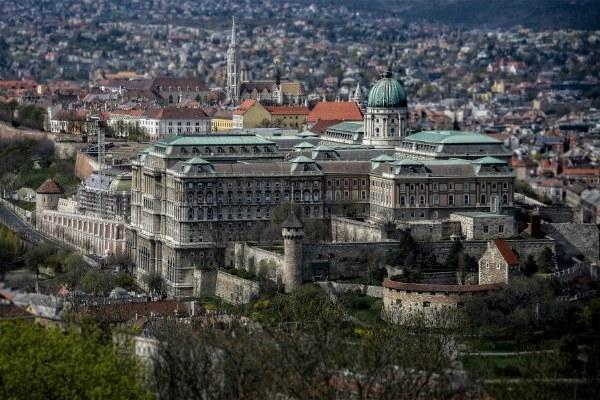 Весна 2021 в Будапеште.