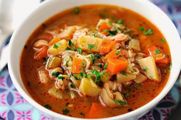 Турецкий суп.