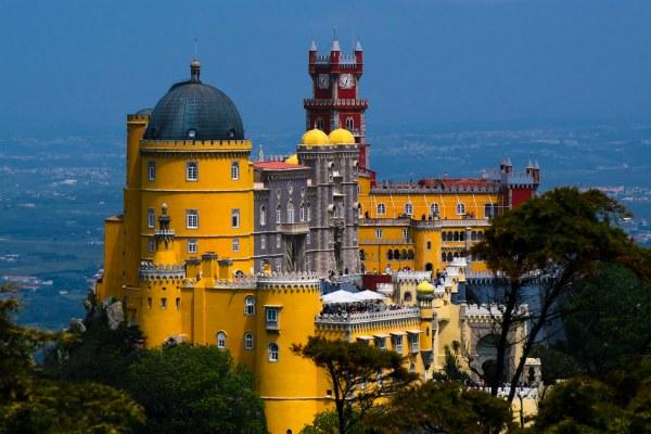 Замок в Синтре.