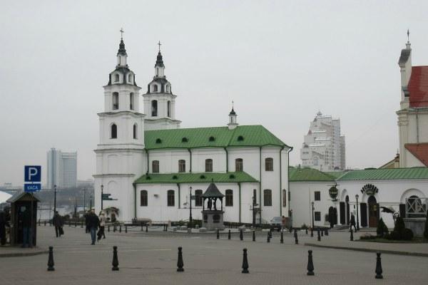 Собор в Минске.