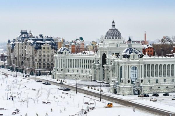 Весна 2020 в Казани.