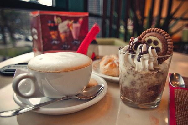 Кофейня.
